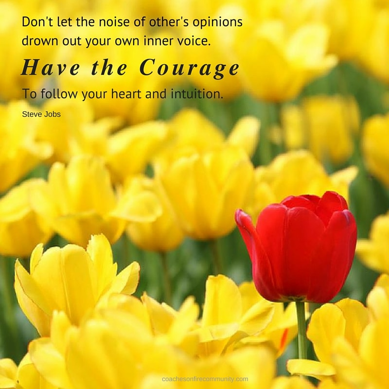 Dont Let The Noise Of Others Opinions Drown Out Your Own Inner Voice.have The Courage To Follow Your Heart And Intuition. Min